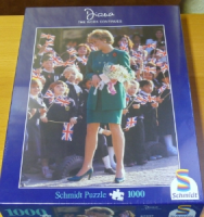"Puzzle ""Lady Diana "" 1000 Teile"