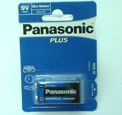 Panasonic Plus 6F22  9V Block Blister