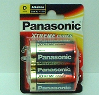 Panasonic X Power LR 20 2er Blister