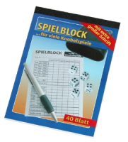 Senioren Knobel Block A5 -40 Blatt