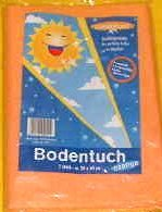 Bodentuch orange 50x60cm