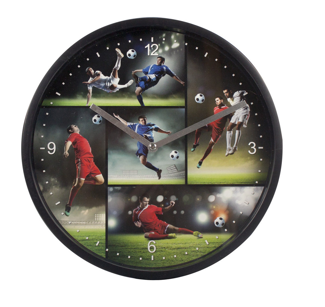 Wanduhr LET`S KICK IT