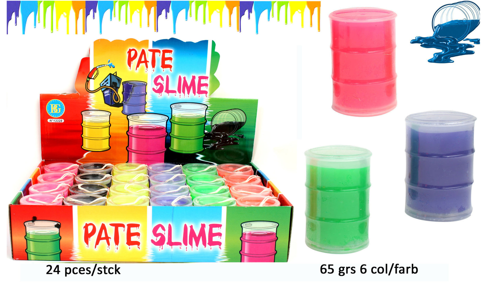 Slime Oil Paste Color 65 gr.
