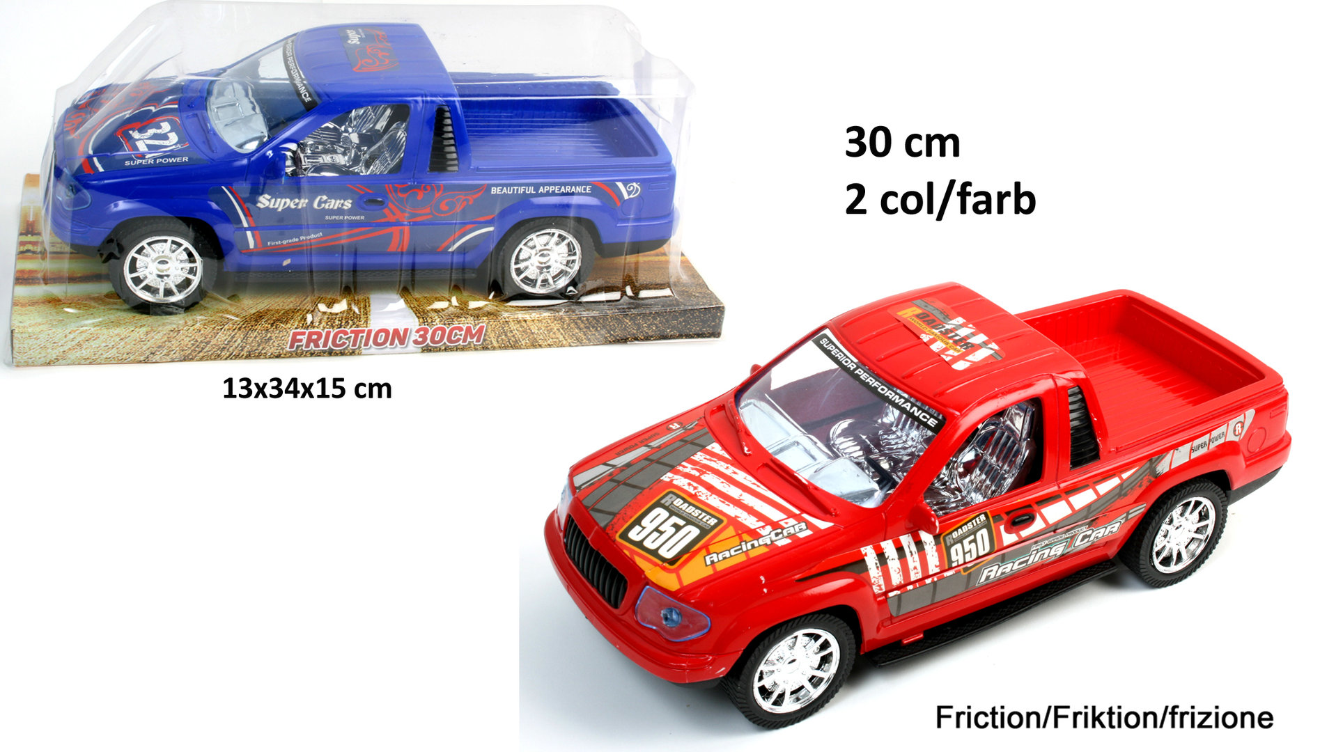 Auto Pick UP 30 cm Friktion